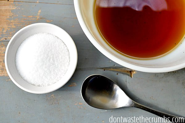 This hot process homemade shampoo bar recipe is simple and nourishing for your hair.