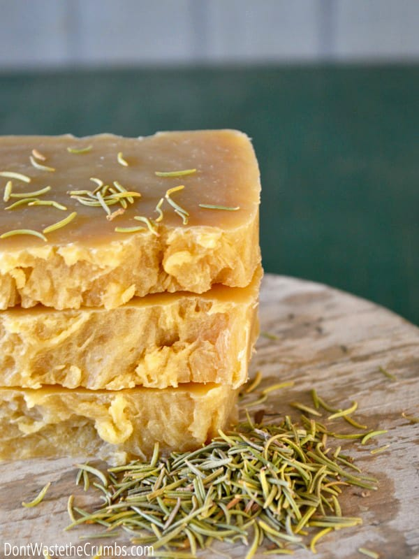 Natural body products can be expensive. To save money, you can make your own shampoo bars. Then you can avoid bad chemicals but not break the budget!
