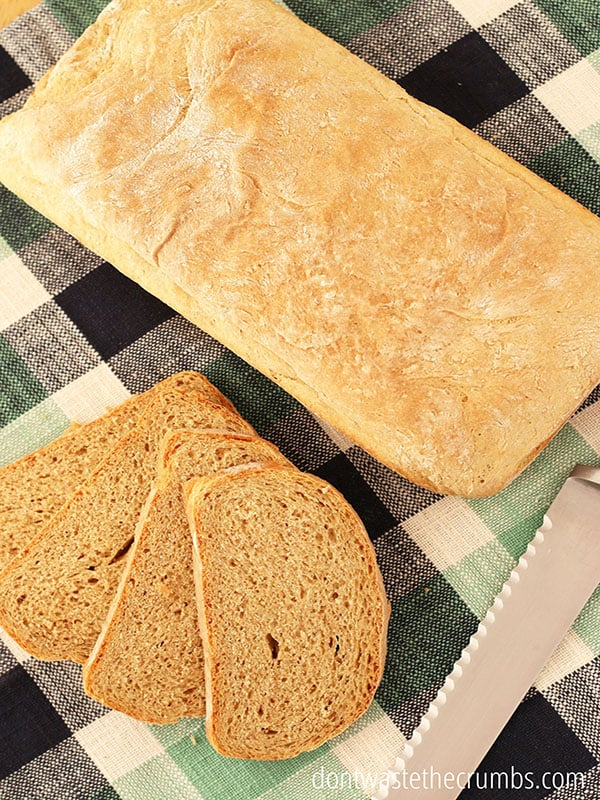 Hey bread bakers - you need this guide! Troubleshoot all the ways baking bread can go wrong - yeast, texture, rise and so much more! :: DontWastetheCrumbs.com
