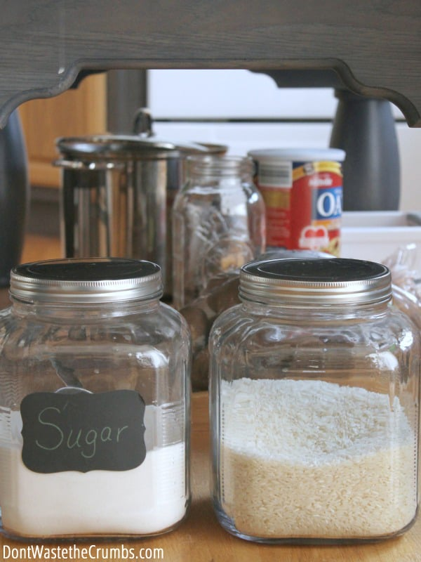 Bulk shopping and appliances can clutter a kitchen but these  rules  for organizing & 9 Rules for Organizing the Real Food Kitchen