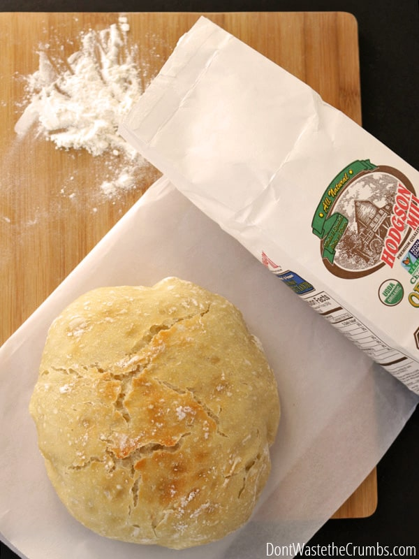 Did you know you can make no knead bread? YES! This my friends is the easiest bread you will ever make.