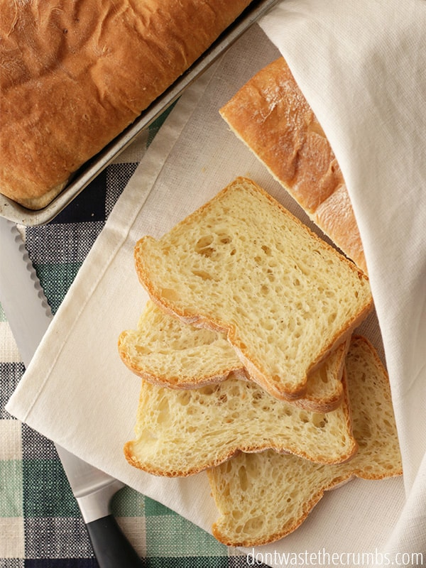 What a great way to use up leftover mashed potatoes, and the buttermilk makes this bread so moist! Potato buttermilk bread is our favorite bread recipe.
