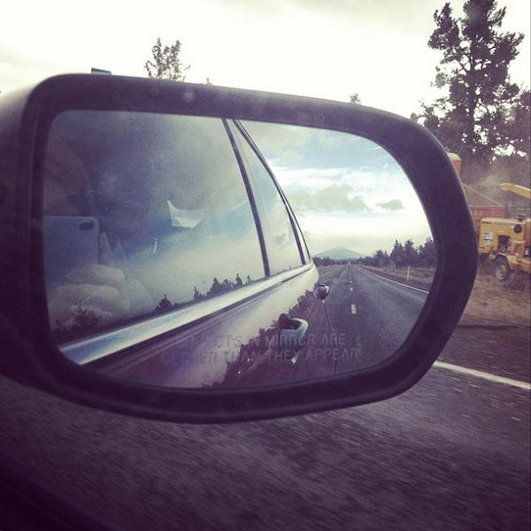 Road Trip Rearview Mirror