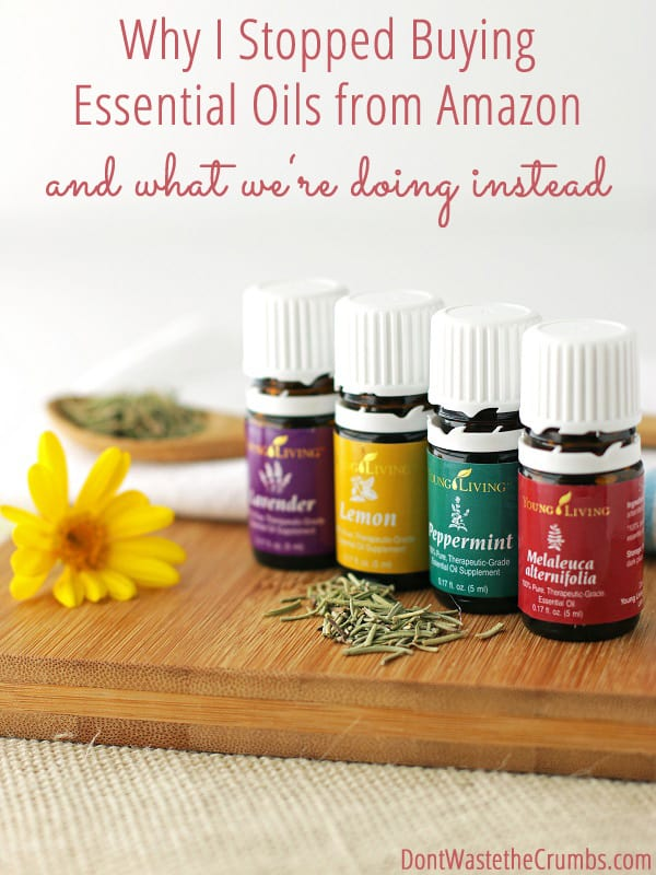 why i stopped buying essential oils from amazon