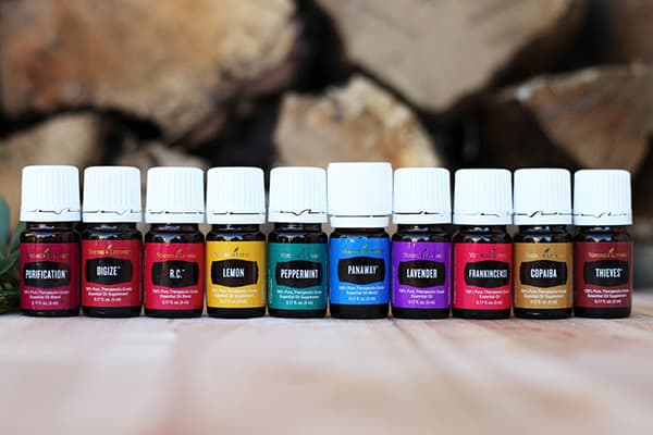 YL Essential Oils Line Up