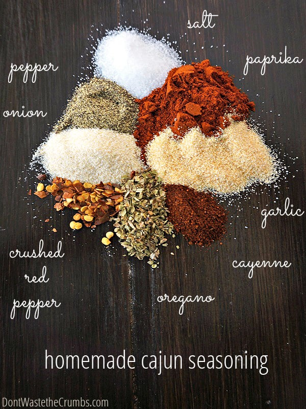 Do you enjoy spices? Season your next meal with one of these homemade spice blends