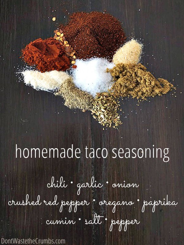 Have you tried making your own spice blends? Super simple and no unnecessary additives!