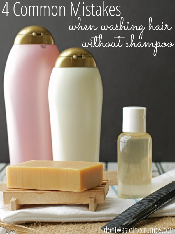 Cleaning Natural Hair Without Shampoo