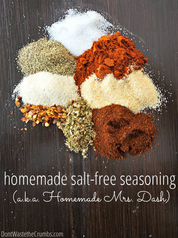 Have you made homemade spice blends? They are so easy and delicious! No additives and full of great flavor!