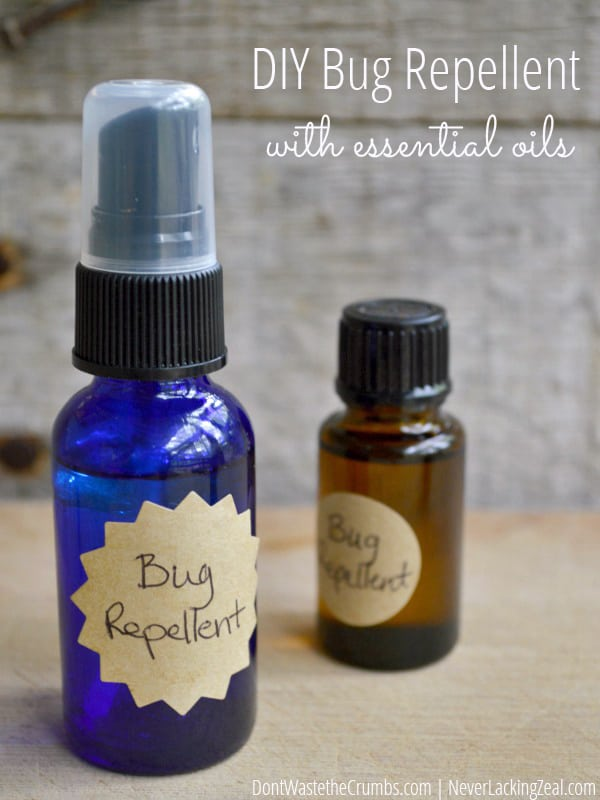 Natural Oil Mosquito Repellent Recipe