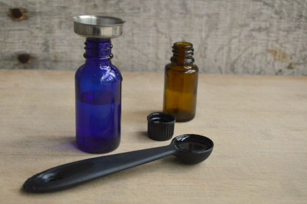 Make your own homemade bug repellent for ticks, mosquitoes, gnats or flies with a combination of essential oils and nourishing carrier oils. :: DontWastetheCrumbs.com