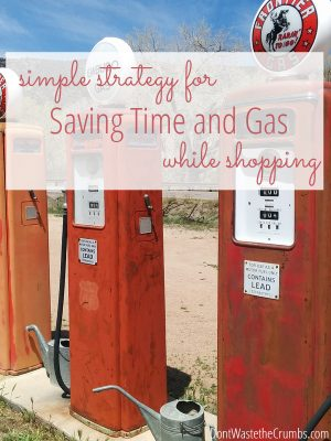 My Simple Strategy for Saving Time and Gas While Shopping