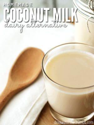 Homemade Coconut Milk: Recipe and Dairy Alternative: