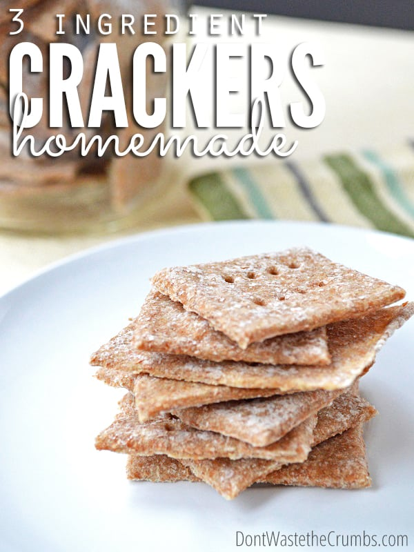 3 Ingredient Cracker Recipe