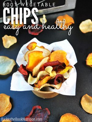 Recipe: Homemade Root Vegetable Chips (Just Like Terra!)