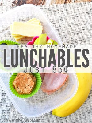 Recipe:  Healthy Homemade Lunchables
