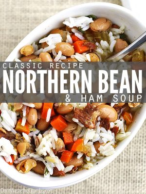Classic Recipe: Northern Beans and Ham Soup