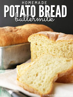 {Yummy} Recipe: Potato Buttermilk Bread