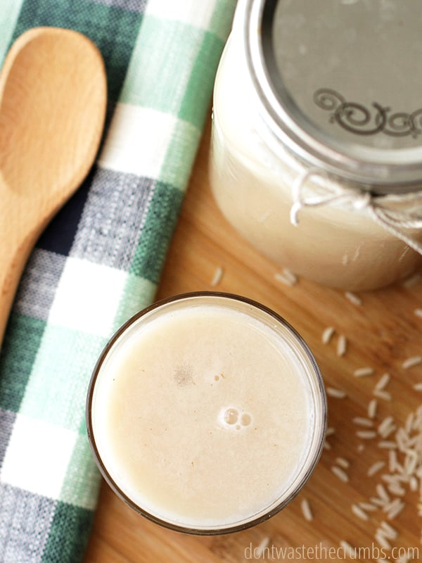 Homemade rice milk is THE EASIEST homemade dairy alternatives out there. It's so easy, you will wonder why you never made it before! Plus it only costs 6 cents!