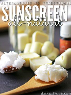 All-Natural Sunscreen Alternatives