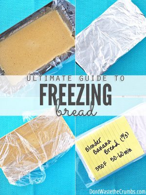 Ultimate Guide to Freezing Bread, Dough and Other Baked Goods