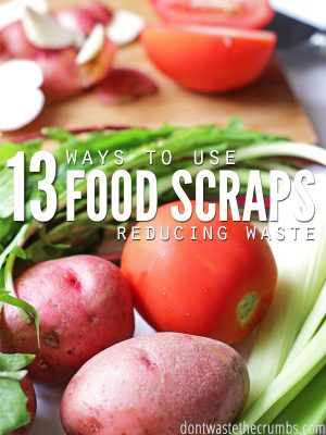 13 Ways to Use Food Scraps