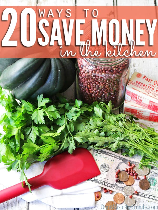 Are you overspending on groceries? Incorporate these super easy and practical tips into your routine to help you save money on real food, making it easier to eat real food without going broke! :: DontWastetheCrumbs.com