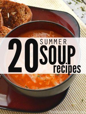 20+ Blended Summer Soup Recipes