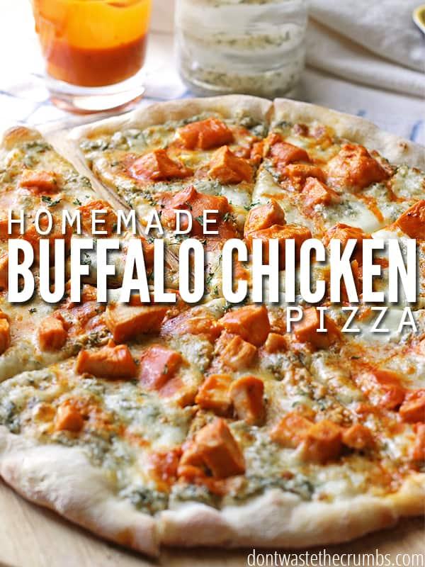 Chicken pizza a crazy good recipe buffalo chicken pizza a crazy good recipe forumfinder Gallery