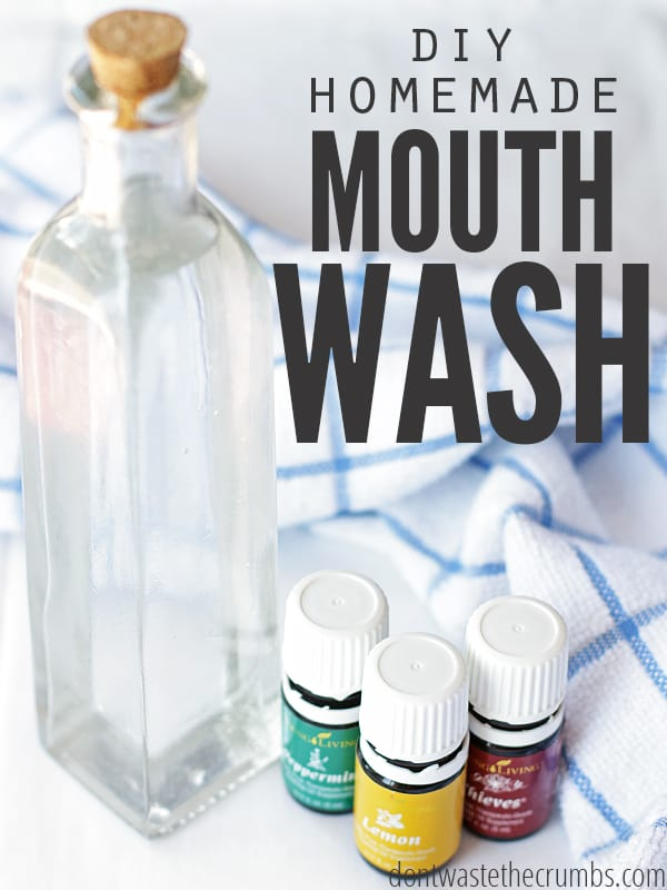 DIY Homemade Mouthwash