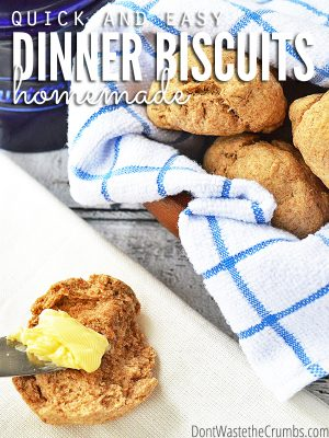 Recipe:  Easy Homemade Dinner Biscuits