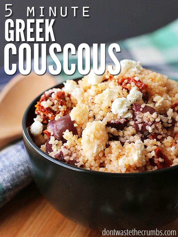 Recipe Greek Couscous