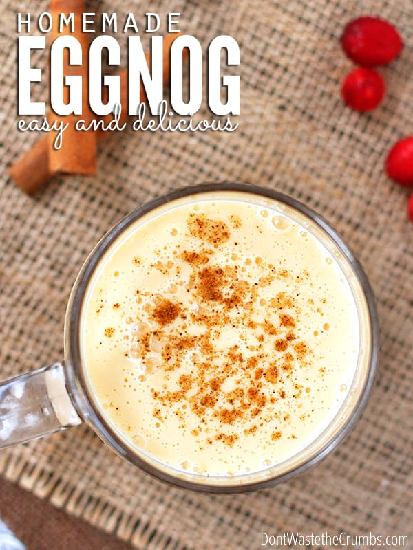 Better than store bought homemade eggnog eggnog is one of my favorite treats this time of year and nothing beats homemade forumfinder Image collections