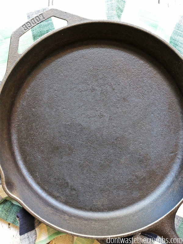 Lodge cast iron skillet.