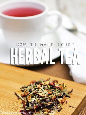 How to Make Loose Herbal Tea