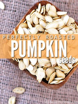 Recipe: Perfectly Roasted Pumpkin Seeds