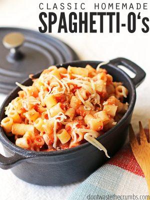 Homemade Spaghetti O's