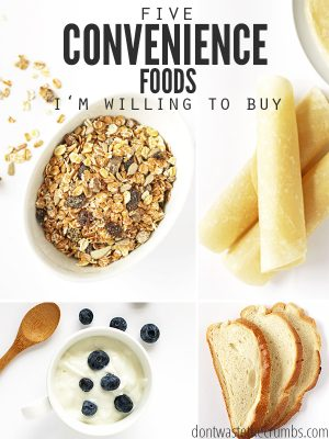 5 Convenience Foods I'm Willing to Buy (and 5 I'm not)