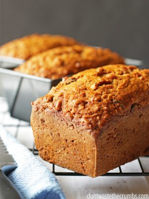 Spiced Carrot Bread: Breakfast & Dessert Recipe
