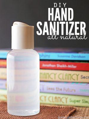 DIY All-Natural Homemade Hand Sanitizer