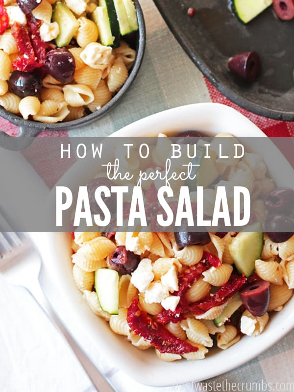 Perfect Pasta Salad - Crumbs