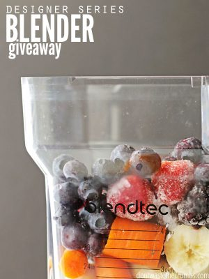 We're Giving Away a Blendtec! [over]