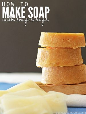 How to Make Soap from Soap Scraps