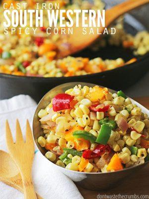 Recipe: Southwestern Corn