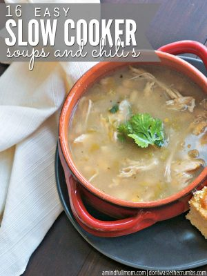 16 Slow Cooker Soups and Chilis for Fall
