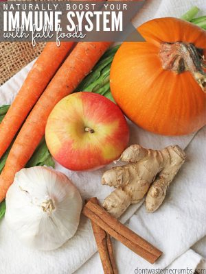 Naturally Boost Your Immune System with Fall Foods