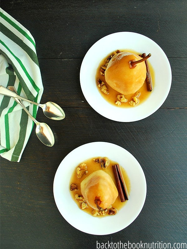 ... Slow cooker poached pears are a super easy way to get the kids to eat
