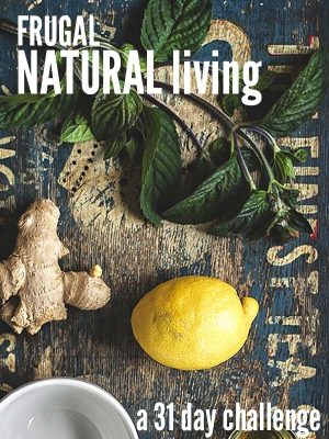 Frugal Natural Living Challenge-Cover