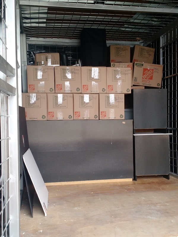 Boxes in Truck