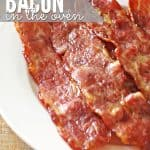 Cook Bacon in Ovena